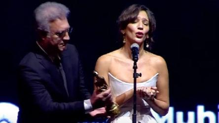 VİDEO | Altın Portakal'da Tamer Karadağlı'yı 'rahatsız' eden konuşma