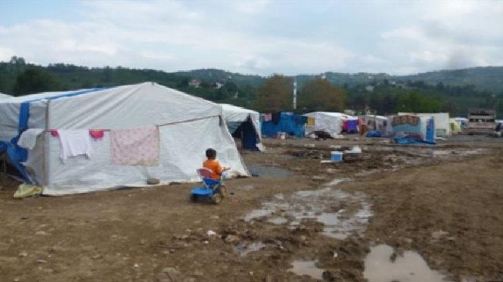Mevsimlik işçilerin kaldığı çadırda 6 çocuk sobadan zehirlendi