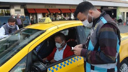 Müşteri seçtiği için ceza yiyen taksici polise tepki gösterdi