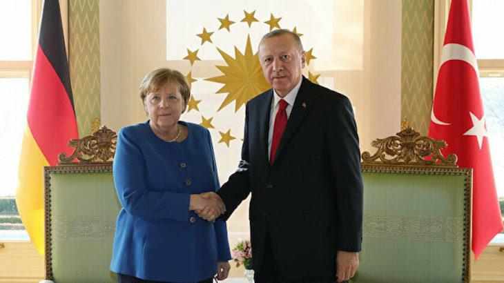 Merkel ve Erdoğan görüşmesi öncesi Sol Parti ve Yeşiller'den Merkel'e çağrı