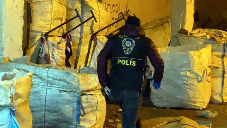 Tekirdağ Çorlu'da atık kağıt işçilerine şafak baskını: 112 gözaltı